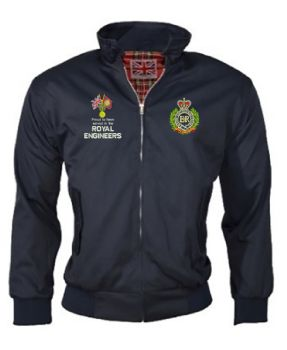 Veterans Badge Proud Serve Harrington Embroidered Jackets
